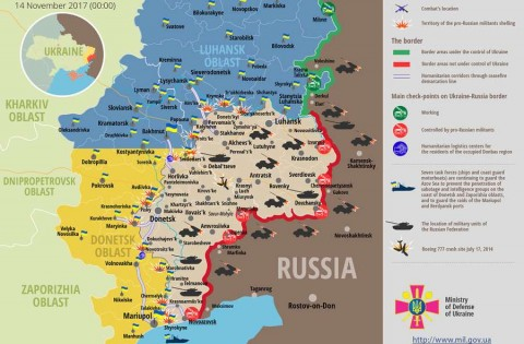 Russia – Ukraine war updates: daily briefings as of November 14, 2017