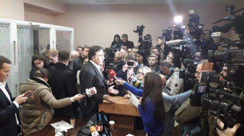 Ukrainian court refused to arrest Mikheil Saakashvili