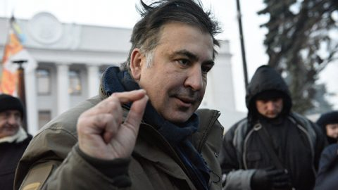 Mikheil Saakashvili has been detained and imprisoned in Kyiv