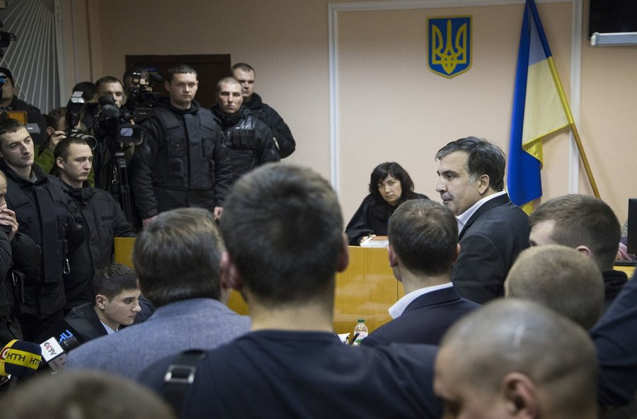 saakashvili ukraine detention court larysa tsokol