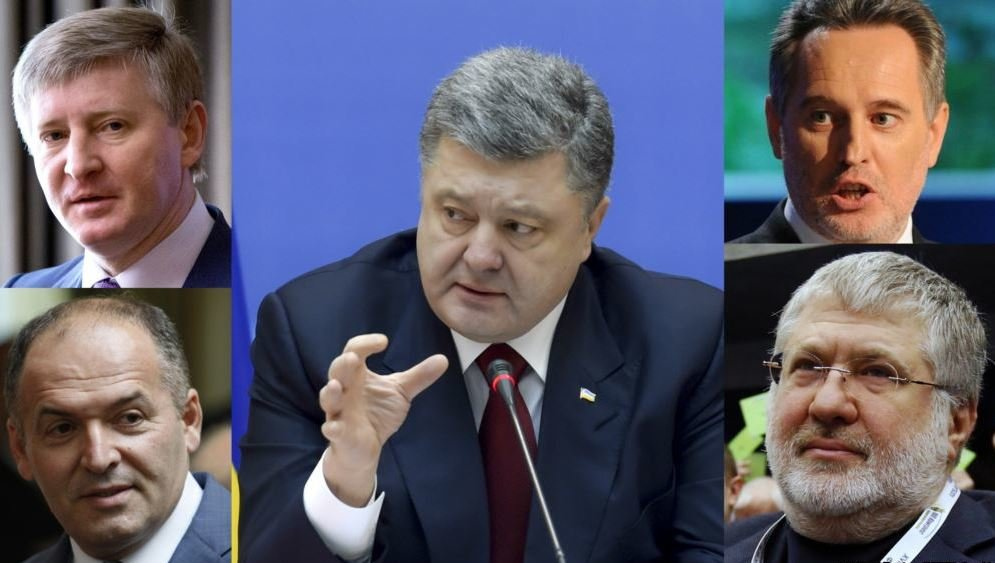 ukraine oligarchs destroy middle class poroshenko