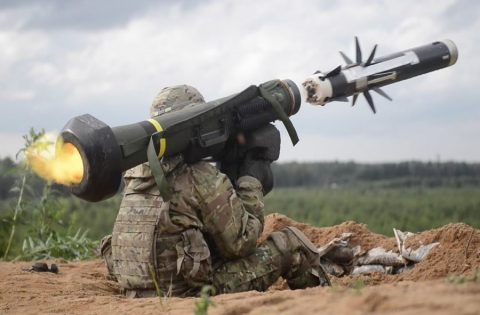 Ukraine Armed Forces start training with Javelin missile complex
