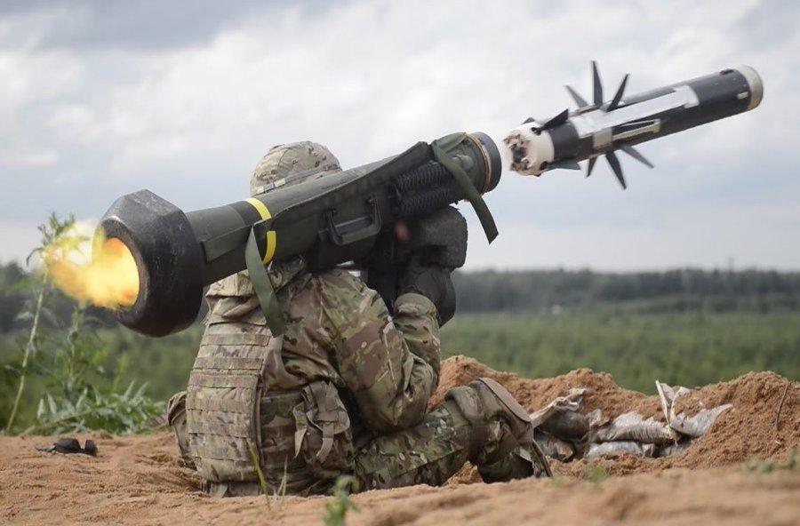 ukraine u.s. jevelin russia ukraine war