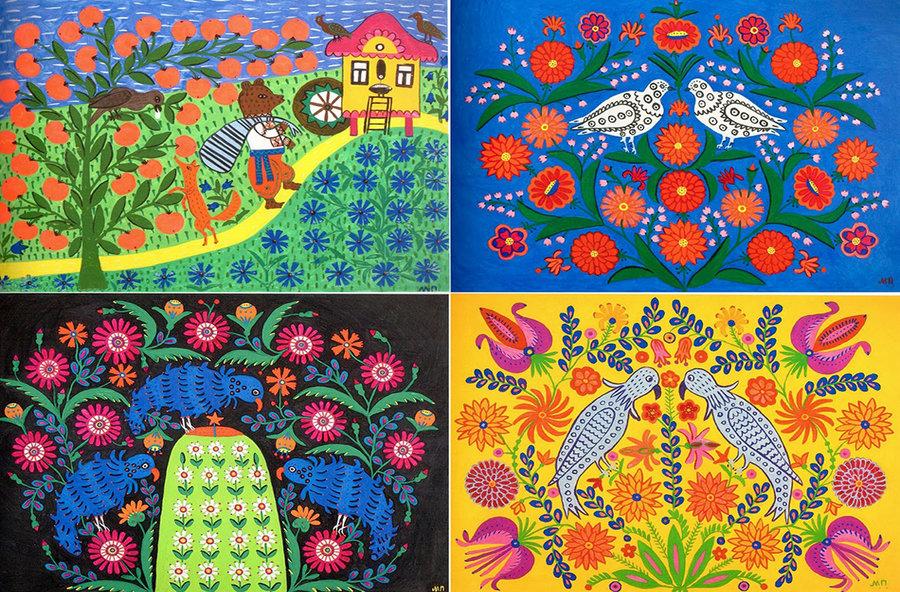 Maria Prymachenko Ukraine Art Exhibition