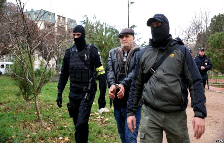 ukraine russia occupied crimea crimean tatars prisoners