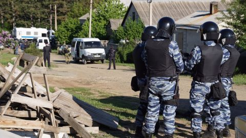 Russian rummage was held in the Crimean Tatars houses in Simferopol