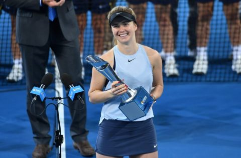 Ukrainian tennis player Svitolina wins WTA tournament