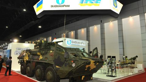Ukroboronprom sold weaponry worth a record 3 billion UAH in 2017
