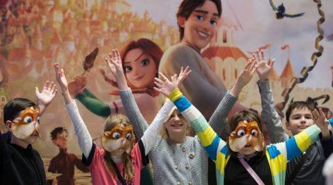 "Ukrainian animation movie ""The Stolen Princess"" to be shown around the globe"