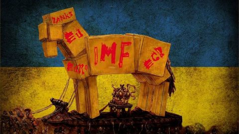 Ukraine falls into top three IMF debtors