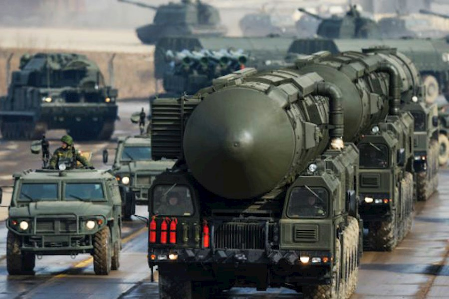 russia ukraine war nuclear weapon