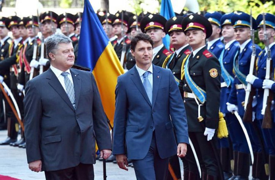 ukraine canade military cooperation