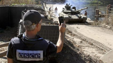 OSCE mission spy affairs in favor of Russia