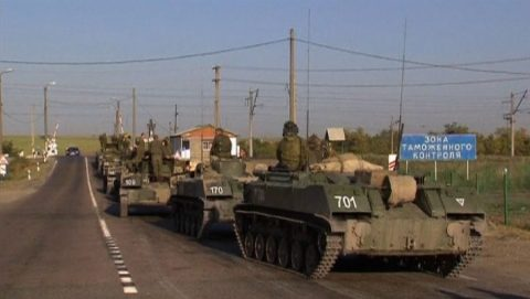 Russian Armed Forces concentrate heavy weaponry near the Ukraine
