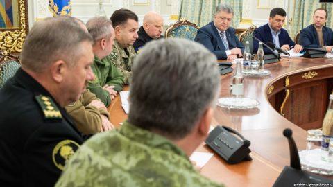 Ukraine Demands Russia Release Sailors, Mulls Martial Law After Gunfire At Sea