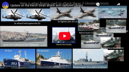Kerch Strait Attack details updates