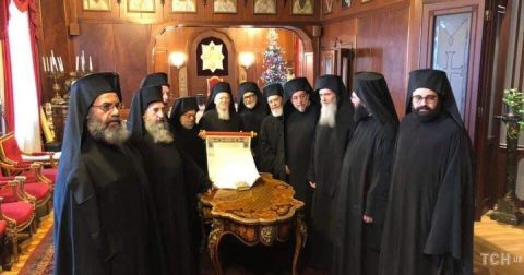 All members of Constantinople Synod signed Tomos for Ukraine Ortodox Church