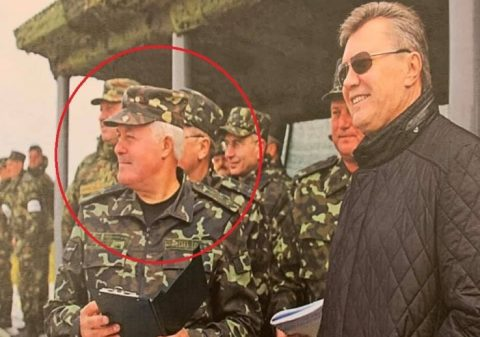 Yanukovych-time General Staff Chief arrested under treason charges