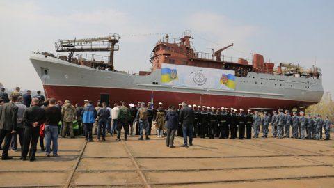 "The newest medium reconnaissance ship ""Corruption"""