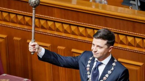 Volodymyr Zelensky's Inaugural Address: full text