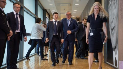 What European Commission expects from the first meeting between Juncker and Zelensky