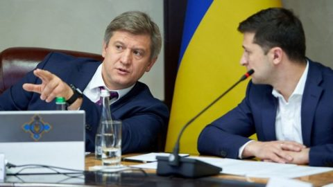 Secretary of the National Security and Defense Council Danylyuk writes a letter of resignation