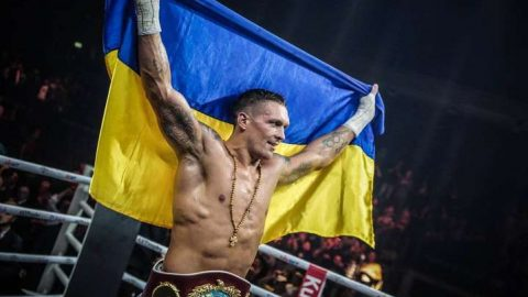 The British recognized Usyk the best foreign boxer