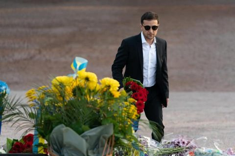 Zelensky was criticized for not commemorating Babyn Yar victims at official events