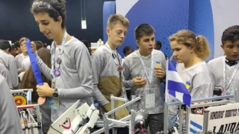 Ukrainian schoolchildren team is in TOP-10 of the World Robot