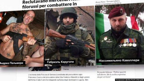 Italy conducts first arrests of mercenaries fighting in Donbas for Russia