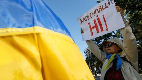 Ukrainian activists launched movement against Zelensky' regime capitulation