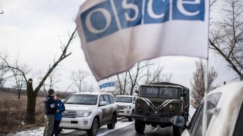 There are 35 Russians and no Ukrainians in the OSCE mission in Ukraine