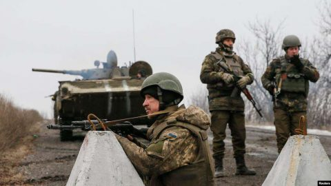 Danger of Ukrainian troops withdrawing from the war zone in eastern Ukraine