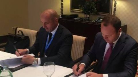 Ukraine signs a strategic agreement with Russia