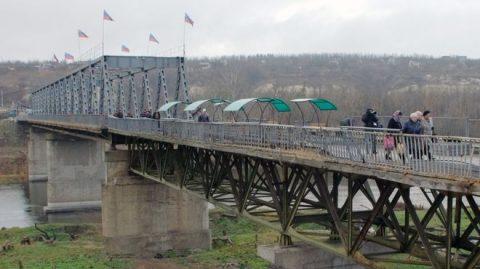 Russian proxies proceeded towards Ukrainian territory in Stanytsia Luhanska