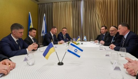 "Netanyahu and Zelensky will discuss ""forces and regimes"" threatening the future"