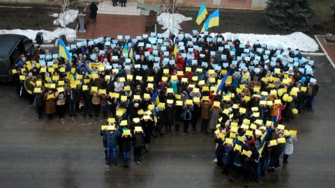 The government has estimated Ukraine's population at 37.3 million