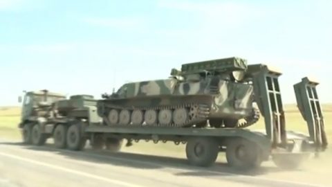 Russia concentrating fuel and ammunition in Donbas