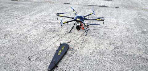 Ukraine created a drone for searching for unexploded ordnance objects