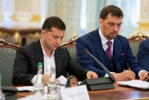 Ukraine's Prime Minister  submitted his resignation