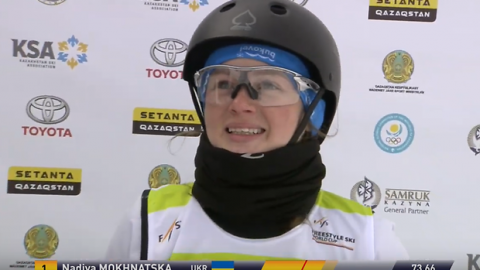 "Ukrainian athlete wins ""gold"" at the Freestyle World Cup"