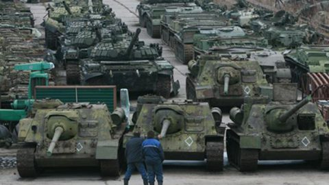 Russia has pulled in thousands of troops and hundreds of tanks to Ukraine's border