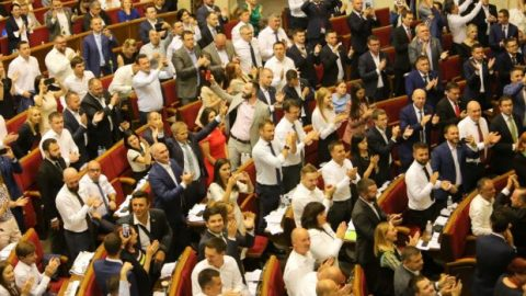 "Doing ""politics"" in Ukraine: ""how to vote"" scenario for Zelensky's MPs"