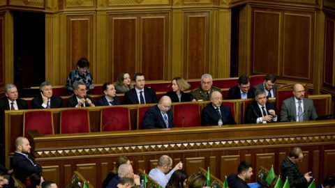 Ukraine's Parliament votes to approve new PM, cabinet: names