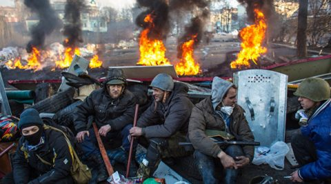 "The Ukrainian Ground Forces make lists of ""Maidan participants"""