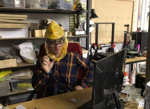 Ukrainian fab lab manufactures DIY PAPR respirators