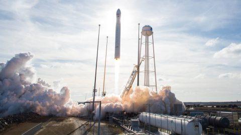 Antares medium-lift launch vehicle took place from NASA's Wallops Flight Facility