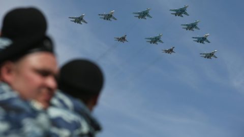 Russia uses aircraft to control the occupying forces in eastern Ukraine
