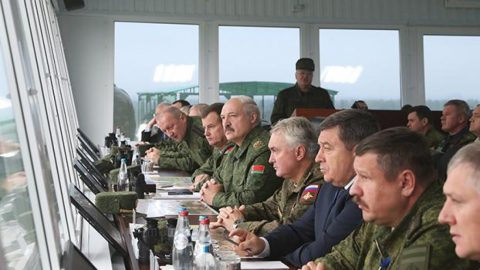 Russia practiced the seizure of Donbas in joint exercises with Belarus in 2013