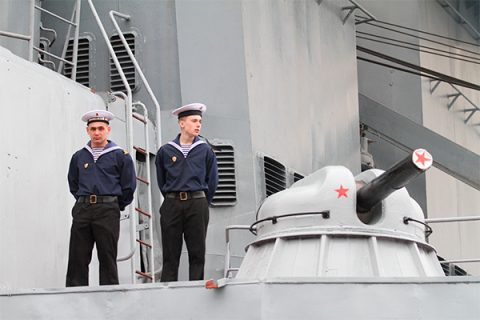 Caspian Military Flotilla is being moved to the Black Sea